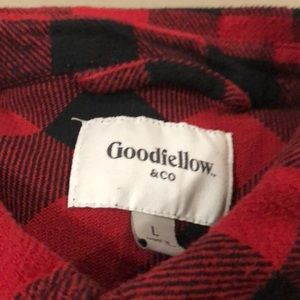 Goodfellow & Co Shirts - Men's goodfellow and co checkered flannel shirt